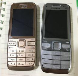 Wholesale Original Nokia E52 Unlokced Phone English Arabic Russian Keyboard MP WIFI GPS G Network Refurbished Phone