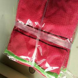 Wholesale Korean Exfoliating Bath Washcloth Top Quality Exfoliating Scrub Green Rose Red Bath Mitten to Japan