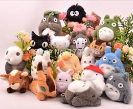 Wholesale Hayao Miyazaki Totoro Spirited Away Princess Mononoke KiKis Delivery Service Castle in the Sky Plush Toy Stuffed Doll