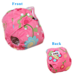 Wholesale Cloth Diapers Wholesale For Newborns - All In One Cloth Diaper Warm Fleece Thicken Winter Nappy Cover Waterproof Diapers 3-14KG Reusable Cloth Diapers For Newborn