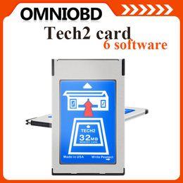 Wholesale 2016 ForGMTech Flash MB PCMCIA Memory Card forGM OPEL SUZUKI ISUZU SAAB Hodlen for chooice Multi language Support