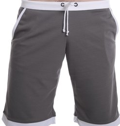 #789 men clothing summer low-waist loose tied breathable sports gym running athletics capris running shorts pants