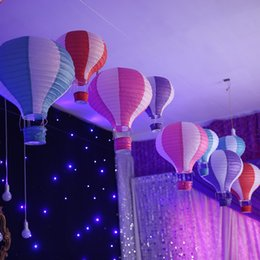 Wholesale New Arrival Colorful Wedding Supplies Decorations paper lantern hanging Ballon and Latern Decorations for wedding parties Cheap W6646