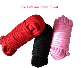 SM bondage with sex toys cotton rope tied rope tied flirting special restraint lashing Free Shipping