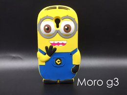 Wholesale Minions Soft Silicone GEL Case D Cartoon Despicable For Asus Zenfone ZE550KL Samsung Galaxy A8 Moto Motorola G3 LG LS770 Huawei Y625 skin