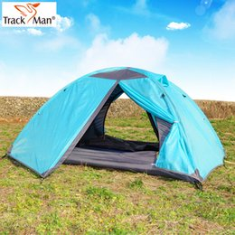 T for rac kman tent outdoor double layer rod tent camping tent