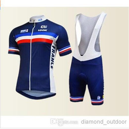canmix size hot team nation France cycling clothing short sleeves cycling jersey + bib short set maillot + culote ropa ciclismo