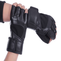 Wholesale Cycling gloves Outdoor race baseball bicycle gloves fitness Bicycle resistant wrist weightlifting Racing boxing leather golf gloves