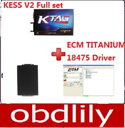 Wholesale Newest KESS V2 Plus KTAG K TAG Plus ECM TITANIUM V1 with Driver