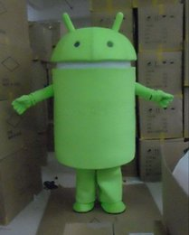 Wholesale Hot Sale Professional New Android Robot Mascot Costume Facny Dress Adult Size