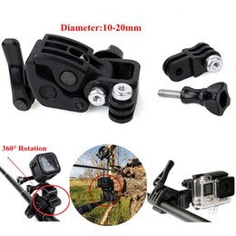 Wholesale GoPro Accessories Clamp Universal Gun Fishing Rod Fixing Clip Go pro Folder Kit For GoPro HERO4 Session xiaomi yi SJCAM