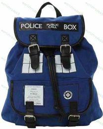 Dr. Who Tardis Backpack Doctor Who Tardis bag Doctor Who bag backpack Tardis Knapsack