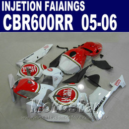 Free Customize Injection Mold for HONDA fairings CBR 600 RR 2005 2006 cbr600rr 03 04 cbr 600rr fairing kit P1NU
