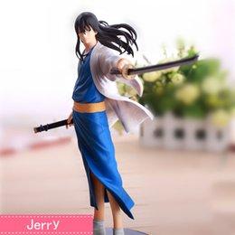 Anime gintama Katsura Kotarou PVC Action Figure Collectible Model doll toy 21cm