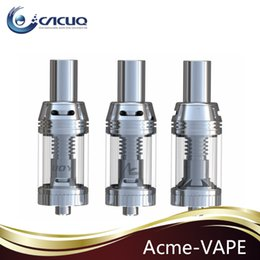 Wholesale Acme Vape Tank E Cigarettes Airflow System Sub Ohm Tank ml fit w ESP Snow wolf Sigelei w w IPV from IJOY