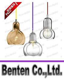 Wholesale Lámpara de suspensión de luz colgante de Mega Bulb SR2 envío libre moderna AndTradition iluminación colgante de cristal lámpara de techo de comedor sala de estar