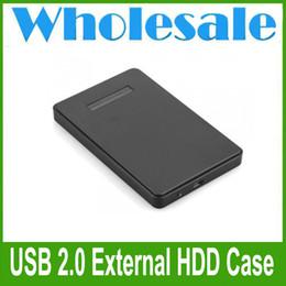 USB 2.0 Caja Cargador externo para SATA de 2,5 pulgadas de disco duro IDE Negro desde una caja portadiscos disco proveedores