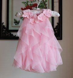 Baby girl Chiffon Floral petti romper Children Flower Collar Ruffle one piece Clothing Newborn Infant Jumpsuit Clothes Baby Clothes