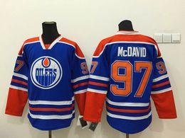 Wholesale Oilers Connor McDavid Blue Hockey Jerseys New Arrival Hockey Wear Hot Sale Men s Ice Hockey Jerseys Stitched Athletic Uniforms