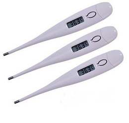 Wholesale Baby Electronic Thermometer Supremely Accurate clinical thermometer Digital LCD for Baby Child Adult Health Care Measure Body Temperature