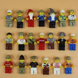 2016 New Lot of 20 Minifigures Figures Men People Minifigs 4.5cm Building Blocks Educational Toy For Kids DIY Bricks Toys Action Figures