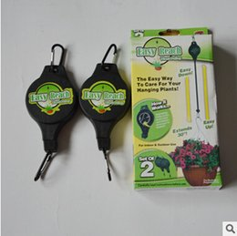 Wholesale By DHL Easy Sets Reach Plant Pulley with Label Plant Hanger Garden Hook pack