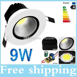 HOT Selling 9W Cob led light Modern Ceiling Lights Warm Cool white Dimmable light fixtures for bedroom With Driver