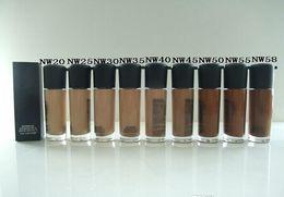 Wholesale Hot brand M Makeup studio fix NW series colors FLUID SPF Foundation Liquid Top quality