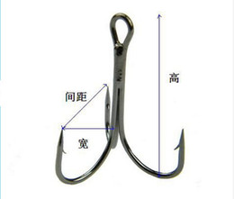 High Carbon Steel Treble Hooks 4# 6# 8# 10# Anzol Sea Hooks fly Fishing Hook Brown Color Fishing tackle