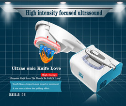 Wholesale Hot selling new korean technology wrinkle removal high intensity focused hifu skin lifting knife price beauty machine