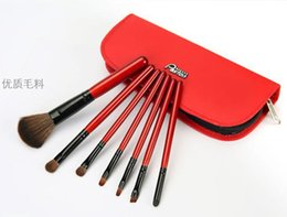 Wholesale Makeup brush sets with brush manufacturer beginner package receive animal hair colour makeup professional tools