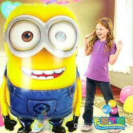 Wholesale HOT selling super big Despicable Me foil balloons jumbo minions inflatable ballons party supplies Large Size cm