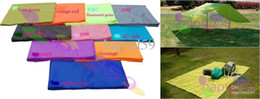 free ship 10color for choosing 3M*3M nylon camping picnic tent sleeping mat pad moistureproof mat tent pad outdoor sunny shelters