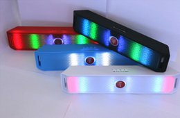 New Pills Led Flash Lighting Portable BT801L Wireless Bluetooth Speaker Support FM phone call for iphone LG HTC phone DHL Free