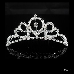 Wholesale High Quality New necklace and earring set Beautiful Sweetheart Rhinestone Wedding Bridal Bridesmaid Prom Party Comb Tiara