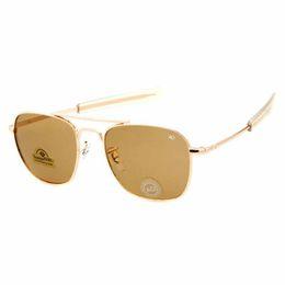 Wholesale AO C new fashion men sunglasses lentes de sol outdoor fishing toad sun glasses metal box