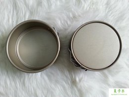 Wholesale Export CM inch round cake pan small belt buckle hearth oven with nonstick baking mold