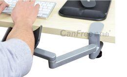 Wholesale-Aluminum Metal Health ergonomic computer hand bracket arm bracket