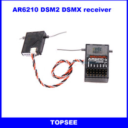 Wholesale Spektrum AR6210 DSM2 Receiver Ghz CH DSMX Receiver with Satellite for AR6110E AR6100 AR6100E