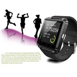 Nouvelle u8 bluetooth montre-bracelet à puce à vendre-2015 Nouveau U8 Smart Phone montre-bracelet pour IOS Android Bluetooth 2.4GHz Smart Watch pour Iphone 6S 5S Samsung S6 S5 Note5