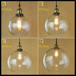Wholesale AC100 V Retro Vintage antique dining room table creative industry luminaria art semicircular chain pendant lights fixture