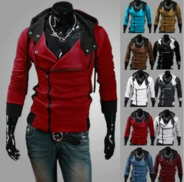 2015 Men Sweatshirts Jacket Fall and Winter Clothes Korean Men Hooded Jacket Coats Men's Cardigan Sweatershirt Slim Plus Size Coat Jackets