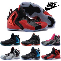 Wholesale Nike Lil Penny Posite Basketball Shoes For Men New Original High Quality Boots Mens Cheap Sports Shoes Outdoor
