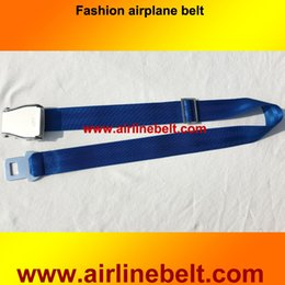 Wholesale Interior Accessories Seat Belts Padding Airplane aircraft airline seatbelt buckle fashion belt Brand New
