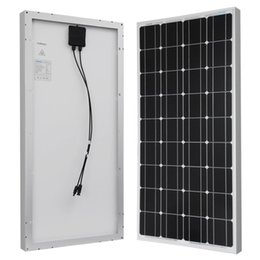 Wholesale New Watt v Monocrystalline Solar Panel W Brand New Watts Volts Monocrystalline Solar Panel Free Freight