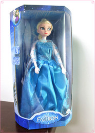 Wholesale New Arrival inch musical Frozen Doll Anna and Elsa with Olaf with music quot let it go quot best toys for kids baby girls from Iebay