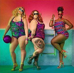 Sexy Padded up Plus Size Bikinis High Waist Bikini 2015 New Women Bikini Swimsuits print fringe high waist Tassels Bikini