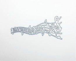 Scrapbooking DIY album Cutting template Cutting Die Steel Dies Music Note dies DM-888