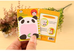 Wholesale X Korean kawaii Cute Animal Zoo adesivo articulos de papelaria stationery planner scrapbooking decorative papel sticky notes
