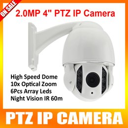 Wholesale HD MP Outdoor Waterproof IP66 mm Optical Zoom Onvif P2P CCTV P Inch Mini Dome PTZ IP Camera CMS Browser Mobile View